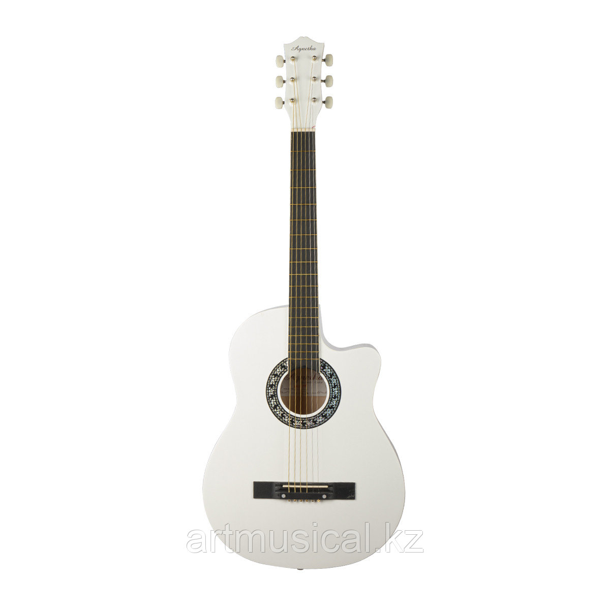 Гитара Agnetha APG-E110C  WH