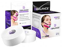 Кинезио тейп для лица, BBTape Face Pack, 2.5 см х 10 м Белый