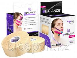 Кинезио тейп для лица BB Tape 2,5 см × 10 м Шелк