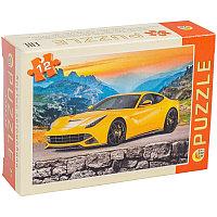 Пазлы 12 элементов 130*175 Рыжий кот CreateMe Крутые автомобили