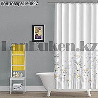 Водонепроницаемая тканевая шторка для ванной Tropik Daisy 180x200 см