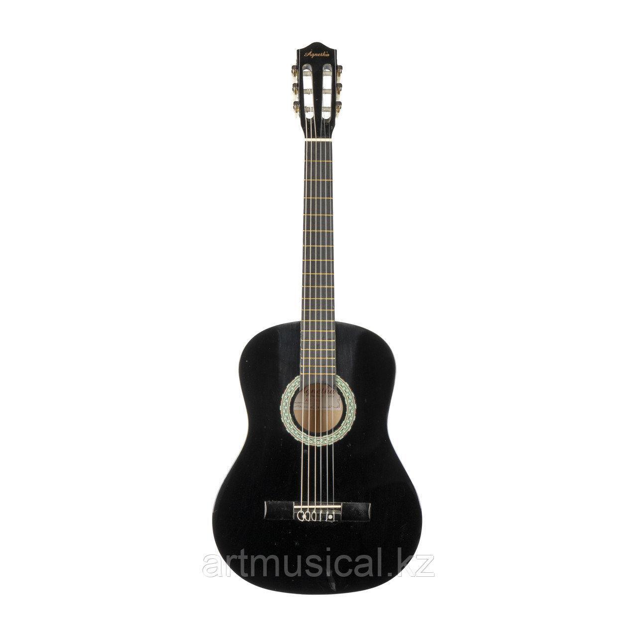 Классическая гитара Agnetha APS-180 BK  3/4