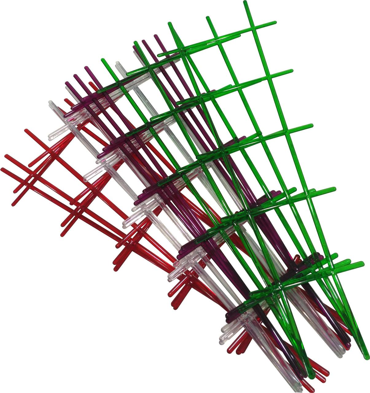 Опора для комнатных растений прозрачная цвета микс