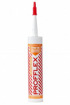 Многоцелевой герметик силиконовый универсальный PROFFLEX 280ml белый