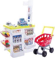 Помогаю Маме Супермаркет, в наборе с аксессуарами, в коробке, 60х19х44 см