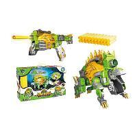 Dinobots 2 в 1 робот-бластер зеленый