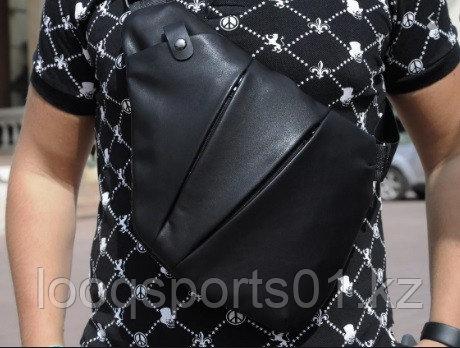 Мужская сумка, барсетка кобура fino (черный)