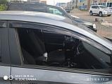 Ветровики дверей (дефлекторы окон) Hyundai Solaris/Accent седан (2017-), фото 6