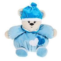"""Мягкая игрушка-погремушка """"Мишка"""", голубой"""