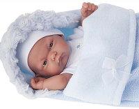 "Кукла- младенец ""Карлос"" в голубом конверте"