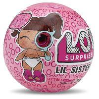 Кукла-сюрприз LOL Surprise Lil Sisters eye spy series