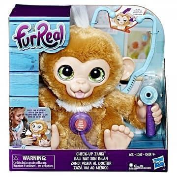 Игрушка мягкая FurReal Friends Вылечи обезьянку