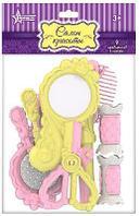 Набор парикмахерский (цветной) (9 пред. В пакете) 27х13,5х4 см.