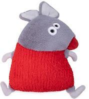 Подушка серая мышка Тобиас