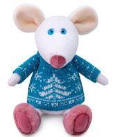 Мягкая игрушка крысенок Сильвестр 17 см символ 2020 года