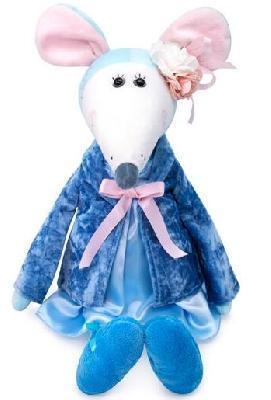 Крыса Дама Жанетта символ 2020 года мягкая игрушка