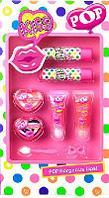 Игровой набор детской декоративной косметики для губ