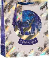 Пакет подарочный «Сказачная ночь», люкс, 26,4 х 36 х 11,5 см