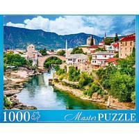 Пазлы Masterpuzzle 1000 элементов. Босния и Герциговина. Мостар