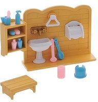 Счастливые друзья. Набор мебели для ванной комнаты, с аксессуарами