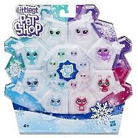 Littlest Pet Shop Игровой набор 16 петов Холодное царство
