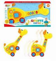 Игрушка для малышей. Жираф/музыкальный центр, 2в1, со световыми и звуковыми эффектами, 43х8,5х21,5 с