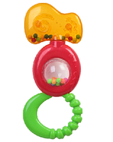 Игр.разв.погрем. пласт., с прорез. и шар.внутри, Bondibon, CRD 22,4х16,5 см., арт. MS0011