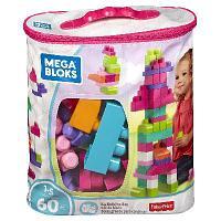 """Игрушка MEGA Bloks """"Мешок """"Мой первый конструктор"""" 60 деталей"""""""