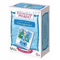 """Новый год. Набор для творчества. Рукодельное мыло с картинкой """"Снегурочка"""" (С Новым годом!)"""