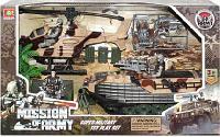 Набор военной техники с фигуркой и акссесуарами