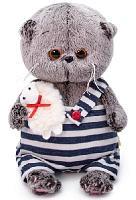 Мягкая игрушка Кот Басик baby с овечкой