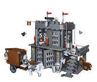 Конструктор Замок, 705 деталей, 53х35х7см Banbao (Банбао)