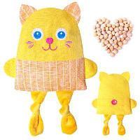 "Развивающая игрушка-грелка ""Крошка кот"", цвета МИКС 180 478468"