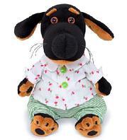 Собака Ваксон baby в рубашке и трусах мягкая игрушка