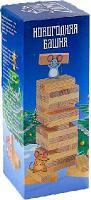 """Новогодняя падающая башня """"Время игры"""", 36 брусков, 12х4.5 см"""