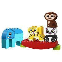 """Конструктор LEGO Duplo """"Мои первые цирковые животные"""""""