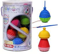 "Игрушка развивающая ""Lalaboom"", 24 предмета"