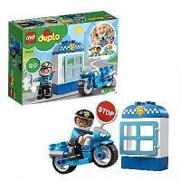 Конструктор LEGO duplo Town Полицейский мотоцикл