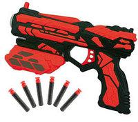 Мегабластер, в наборе с 6 мягкими снарядами, в открытой коробке