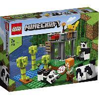 Конструктор LEGO Minecraft Питомник панд