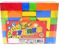 Кубики мягкие, в наборе 34 предмета, в пакете