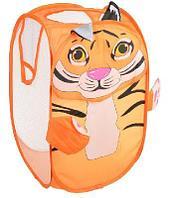 Корзина для игрушек раскладная с ручками и рисунком, полиэстер, 36х55х35см, 3-6 дизайнов