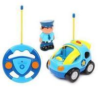 """Радиоуправляемая игрушка """"Полицейская машина"""", 2 канала, свет, музыка"""