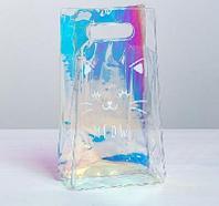 Пакет из голографического пластика Meow, 13 ? 23 ? 6 см