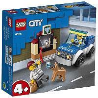 Конструктор LEGO CITY Police Полицейский отряд с собакой