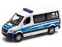 Игрушка модель машины 1:50 микроавтобус Welly Mercedes-Benz Sprinter Полиция (43731P)