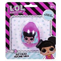 Детская декоративная косметика LOL в маленьком яйце на блистере