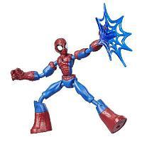 Spider-MAN. Фигурка 15 см Бенди Человек Паук