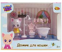 Модный дом. Домик для кошки. Ванная комната