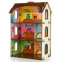 Дом для кукол с обоями